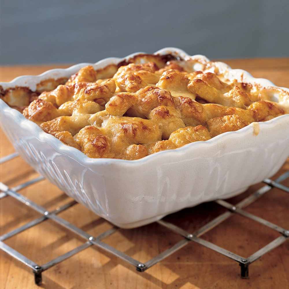 Baked Gnocchi with Cheese