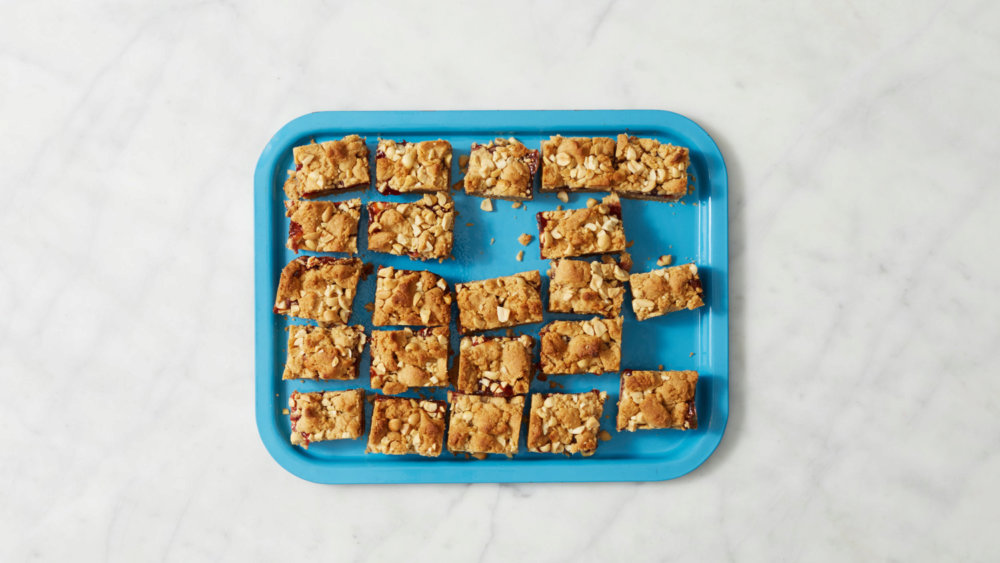 Homemade Peanut Butter and Jelly Bars