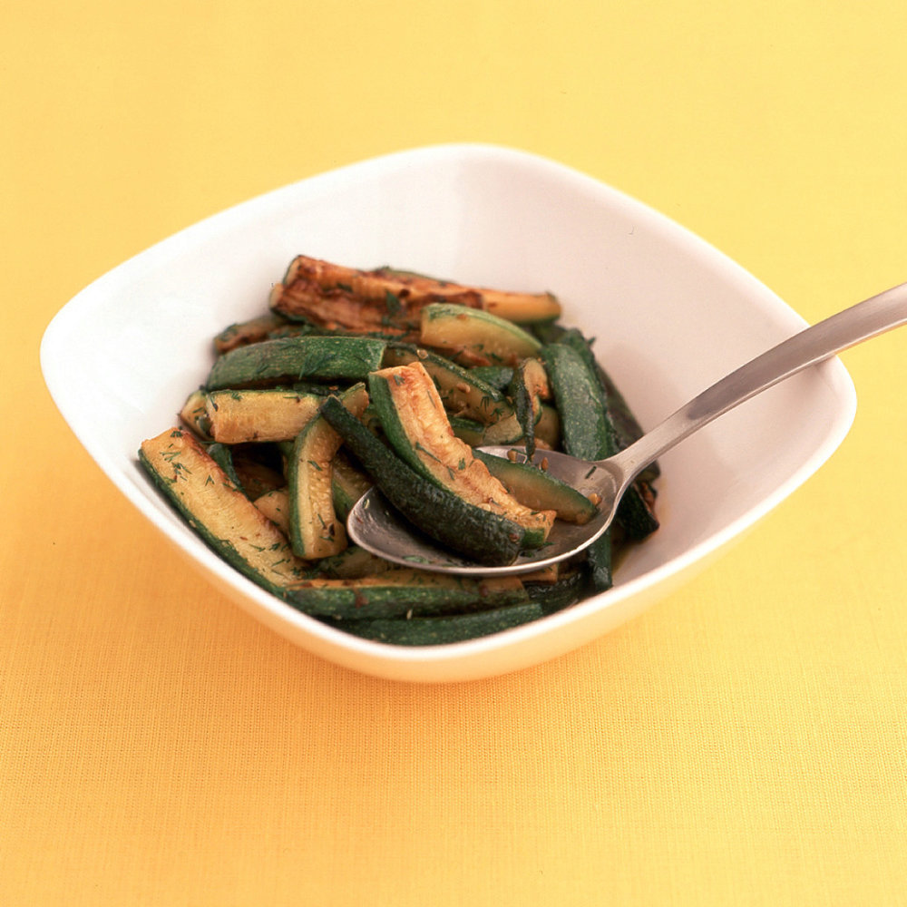 Easy Dilled Zucchini