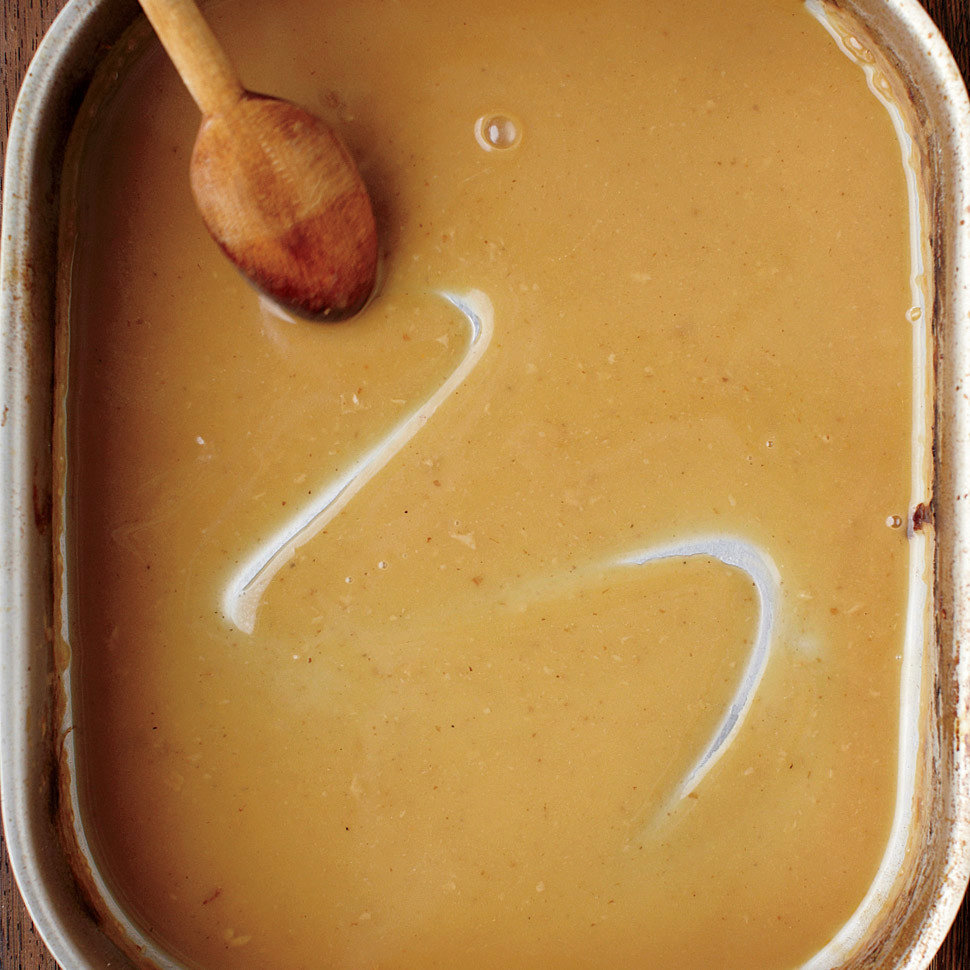 Pan Gravy from Drippings