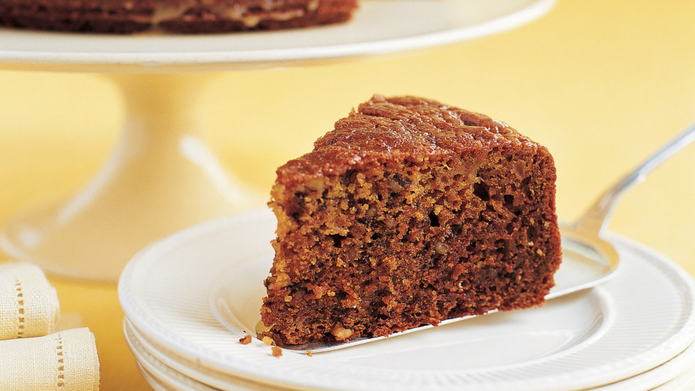 Walnut Honey Cake