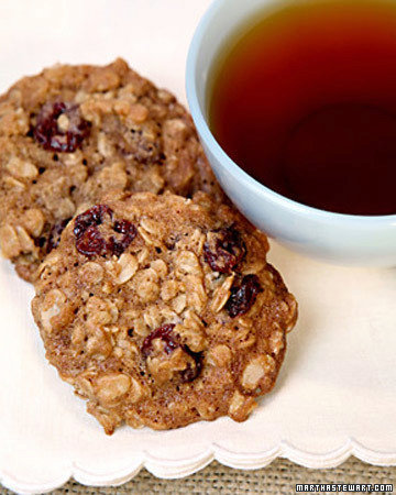 Chewy Cherry-Oatmeal Cookies