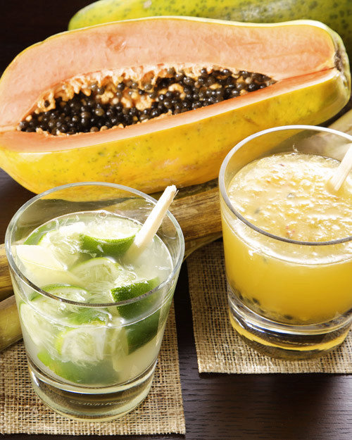 Fresh Passion-Fruit Caipirinha