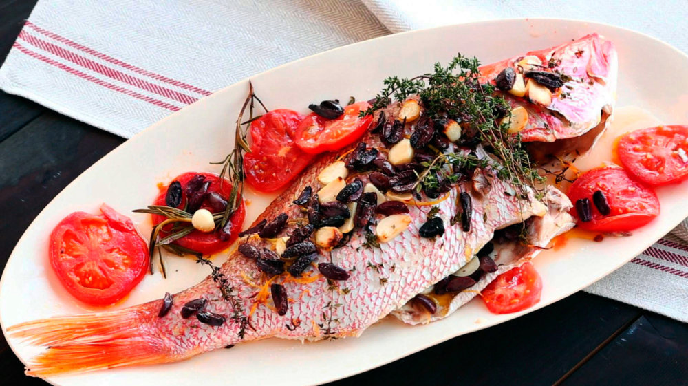 Emeril's Whole Roasted Red Snapper