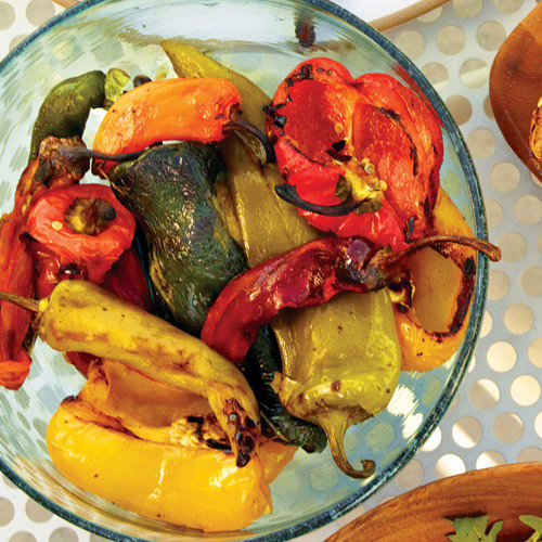 Grilled Peppers and Chiles