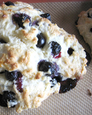 Emily's Blueberry Scones