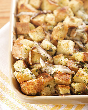 Brown Butter, Sage, and Mushroom Stuffing