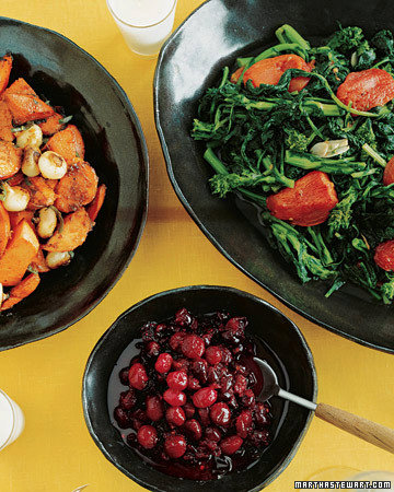 Broccoli Rabe with Roasted Tomatoes