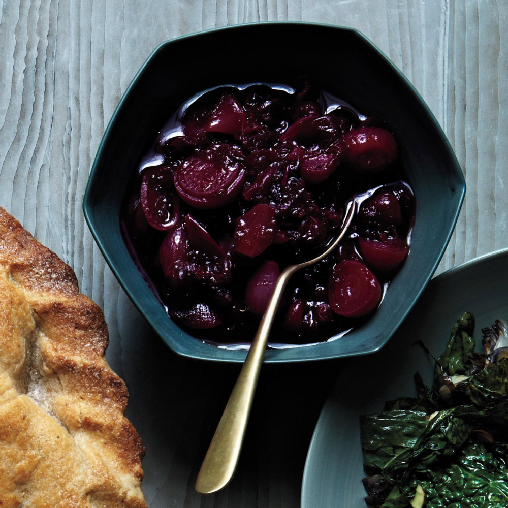 Cranberry Relish with Pearl Onions