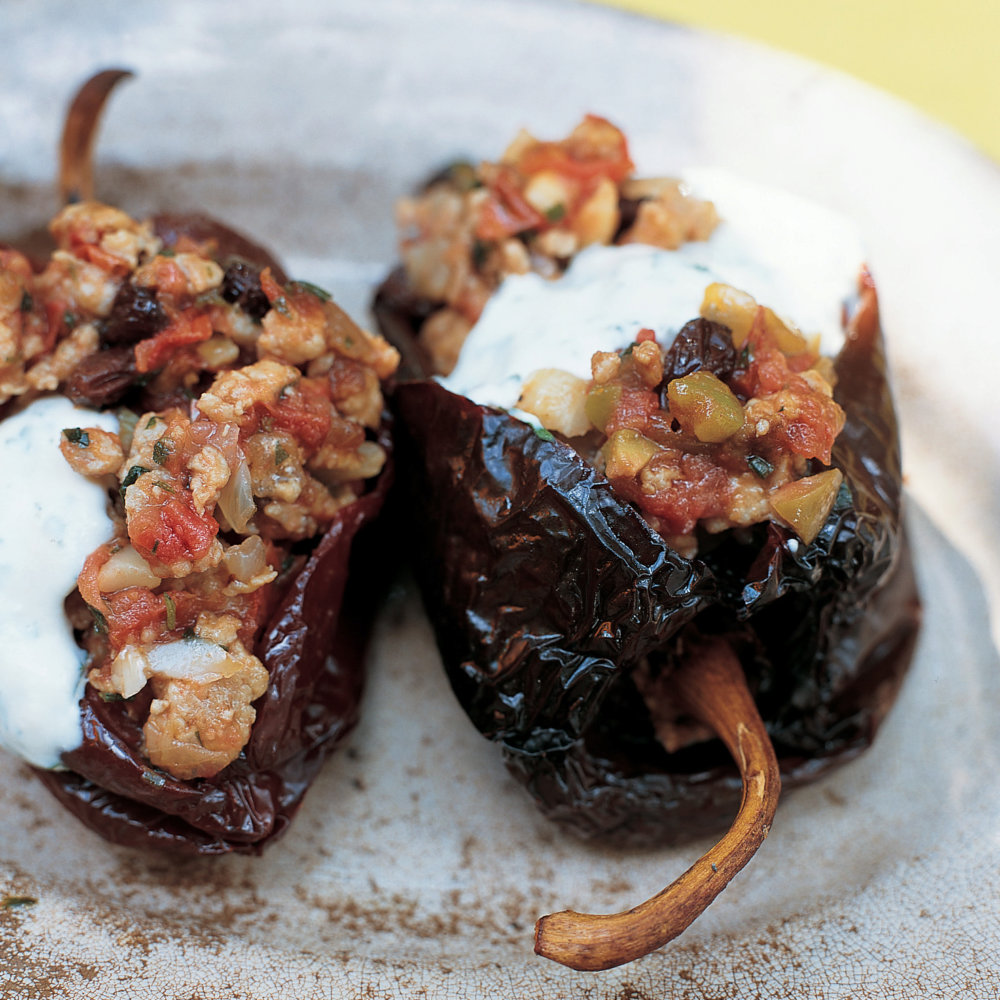 Chiles Ancho Rellenos