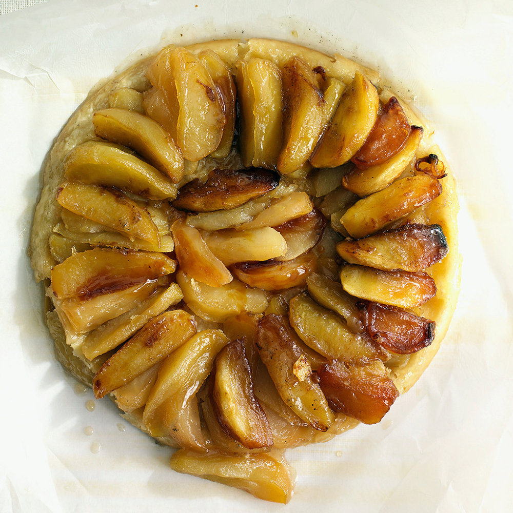 Caramelized Apple Tart