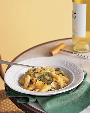 Rocchetti with Summer Squashes and Sweet Corn