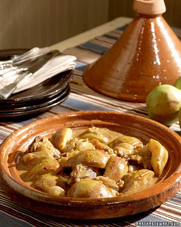 Lamb Tagine with Pears