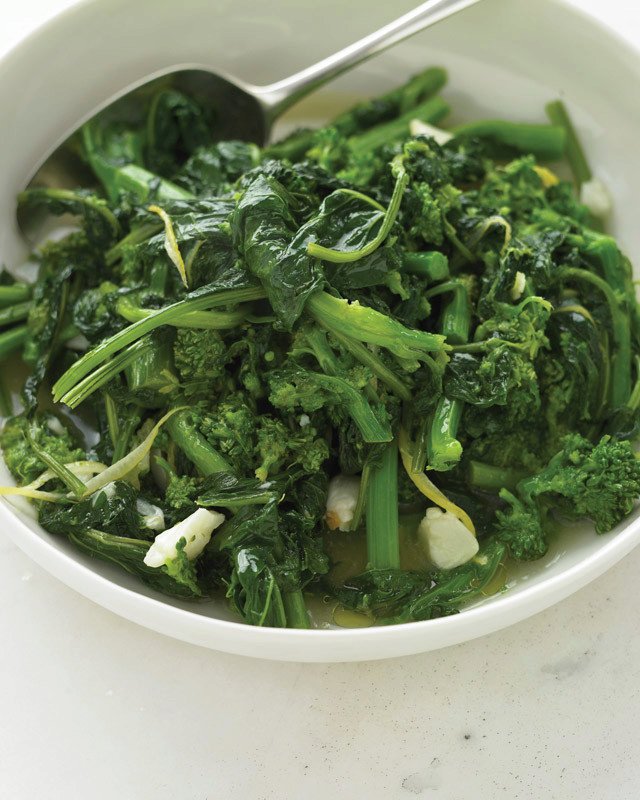 Quick Braised Broccoli Rabe