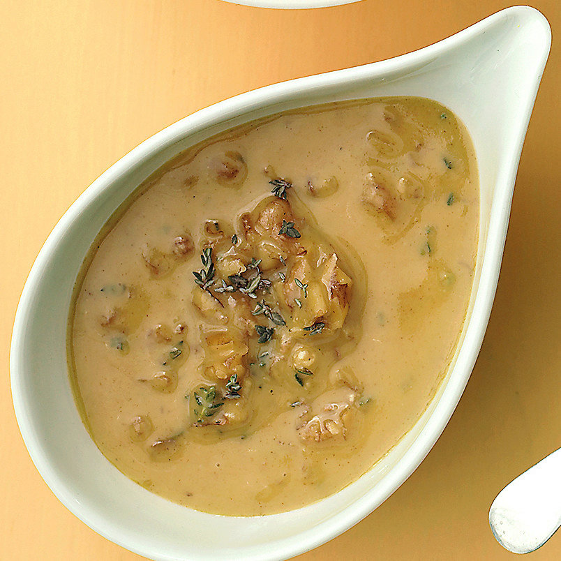 Mustard, Maple, and Walnut Sauce with Grilled Chicken