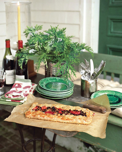 Pate Brisee for Mushroom-and-Bacon Tart