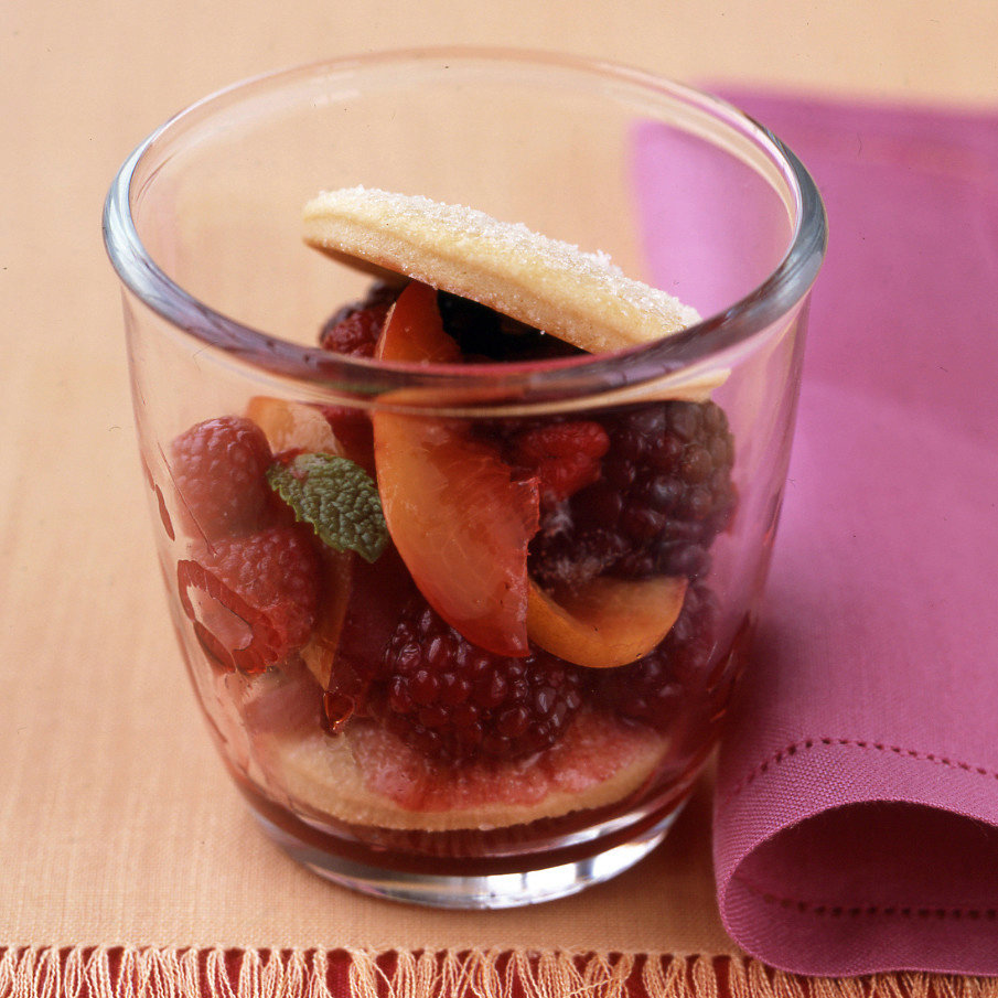 Fruit and Cookie Parfaits