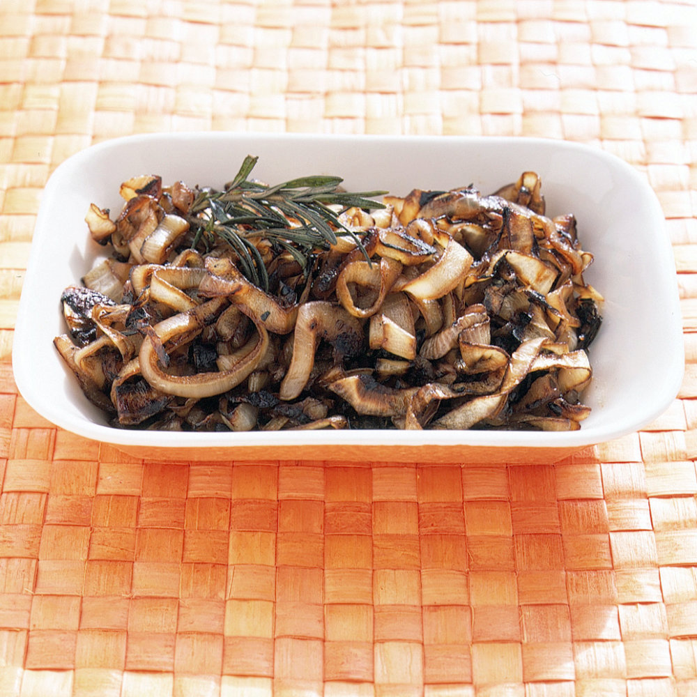 Grilled Rosemary Onions