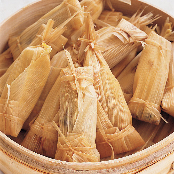 Buttery Fresh Corn Tamales
