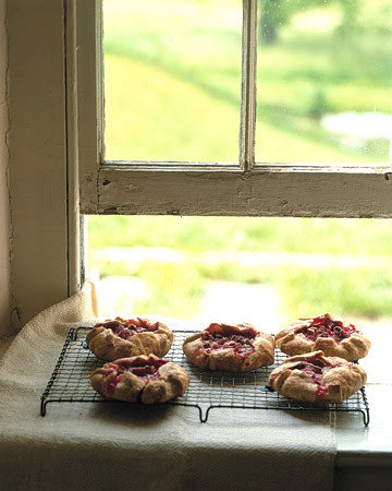 Pate Brisee for Individual Rhubarb and Raspberry Tartlets