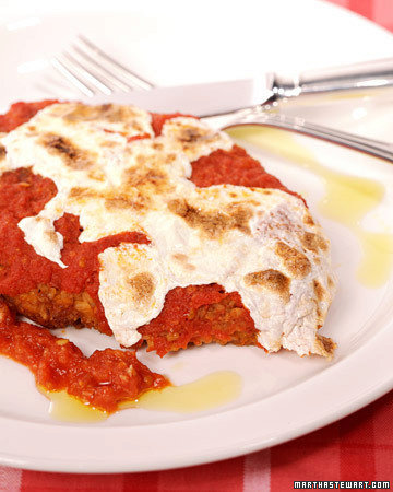 Pino Luongo and Mark Strausman's Chicken Parmigiana
