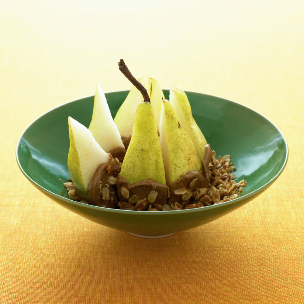 Granola-Almond Pear Crunch