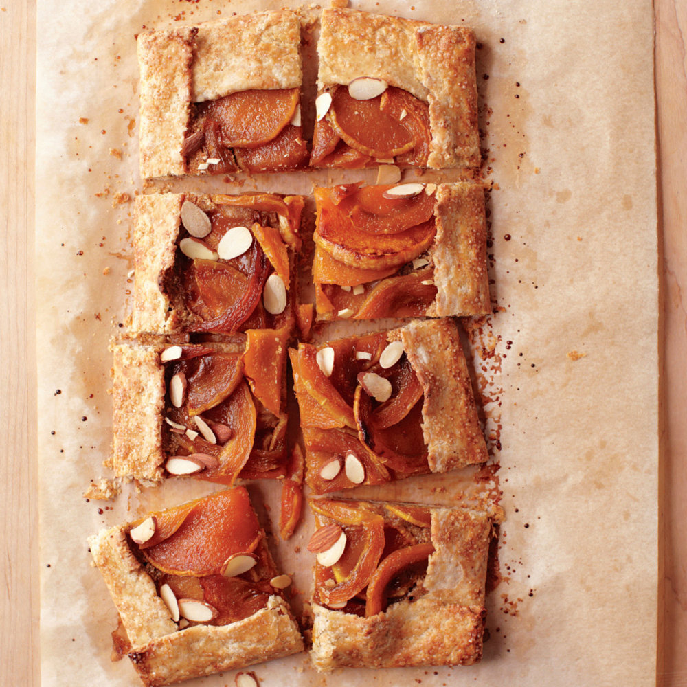 Toasted Almond and Butternut Squash Tart