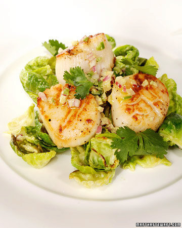 Scallops and Brussels Sprouts