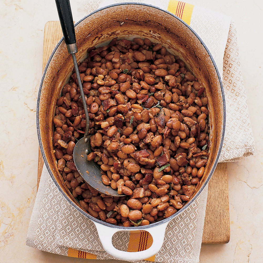 Pinto Beans with Sage