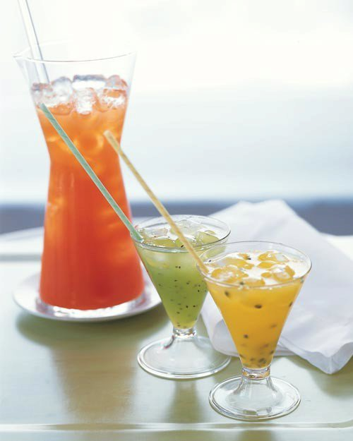 Simple Syrup for Passion-Fruit Orangeade