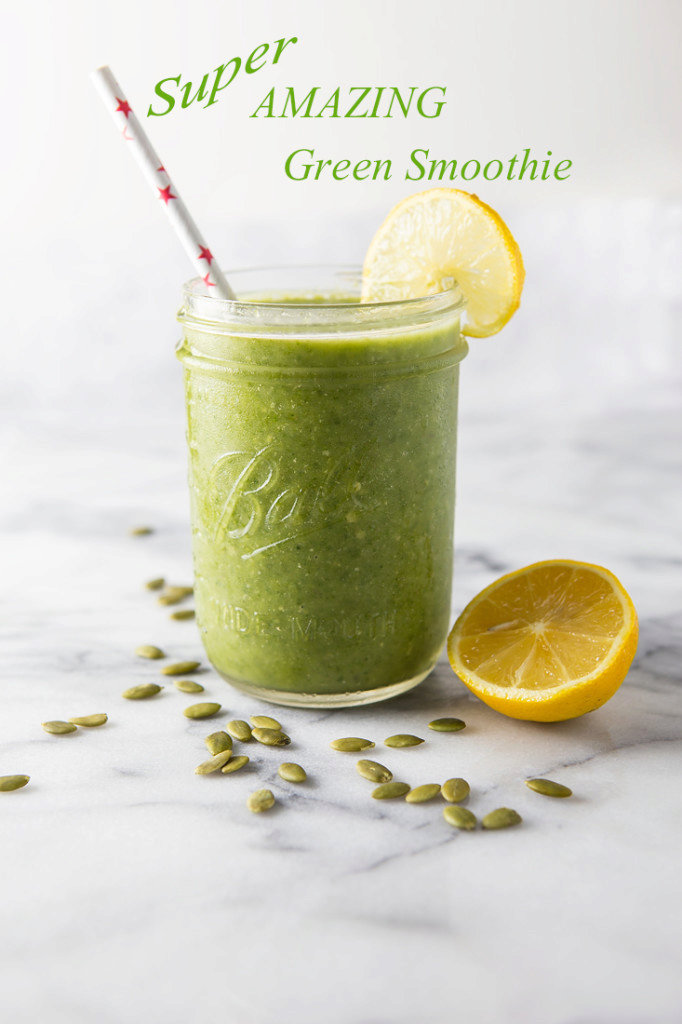 Super Amazing Green Smoothie and 365 Workouts