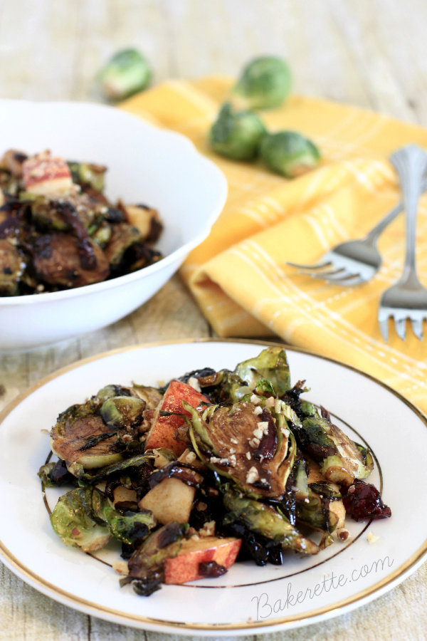 Balsamic Brussels Sprouts Salad