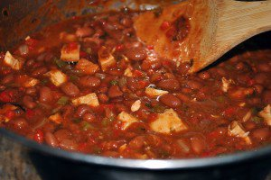 Slender Chipotle Chicken and Bean Chili