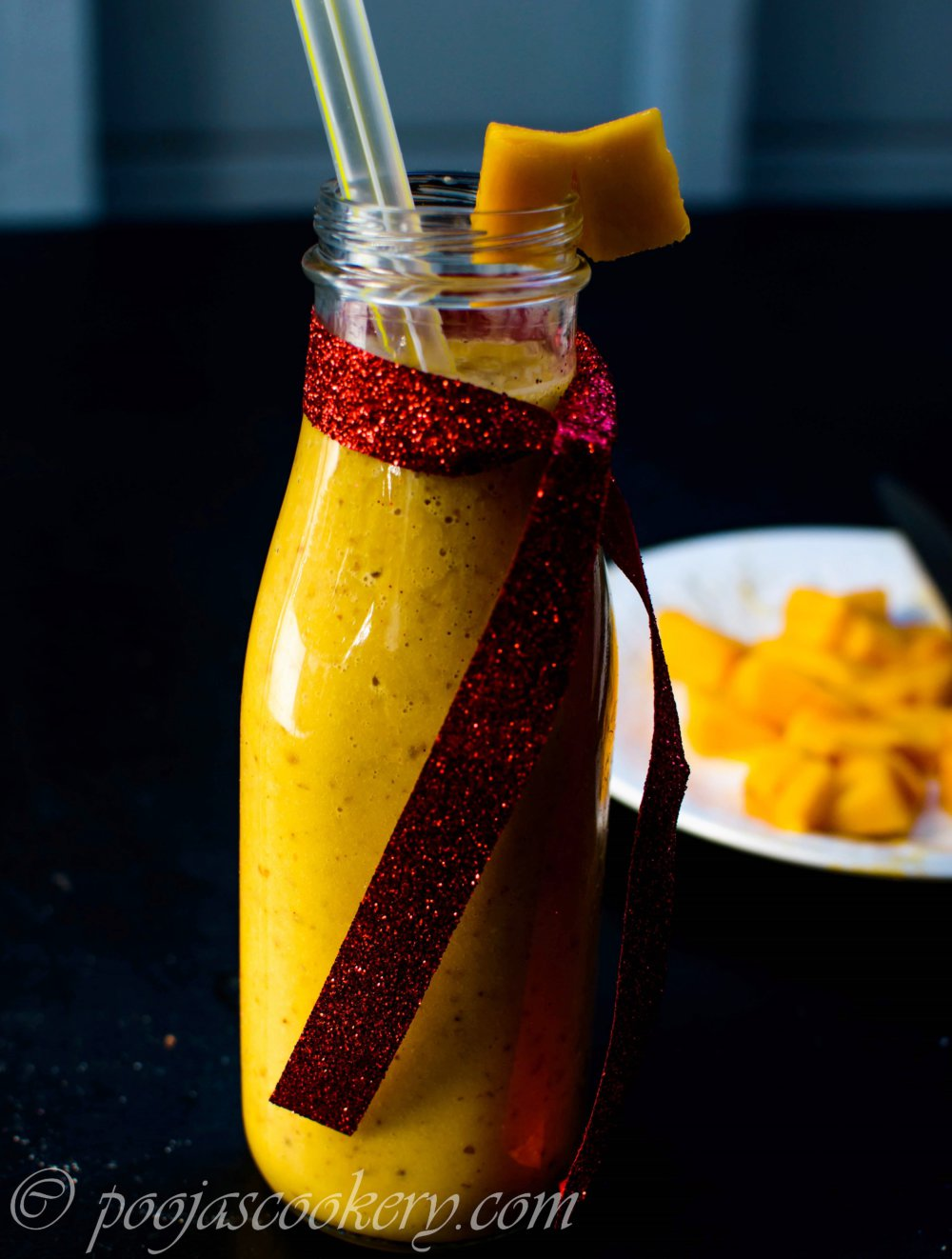 Healthy and Tasty Mango Smoothie