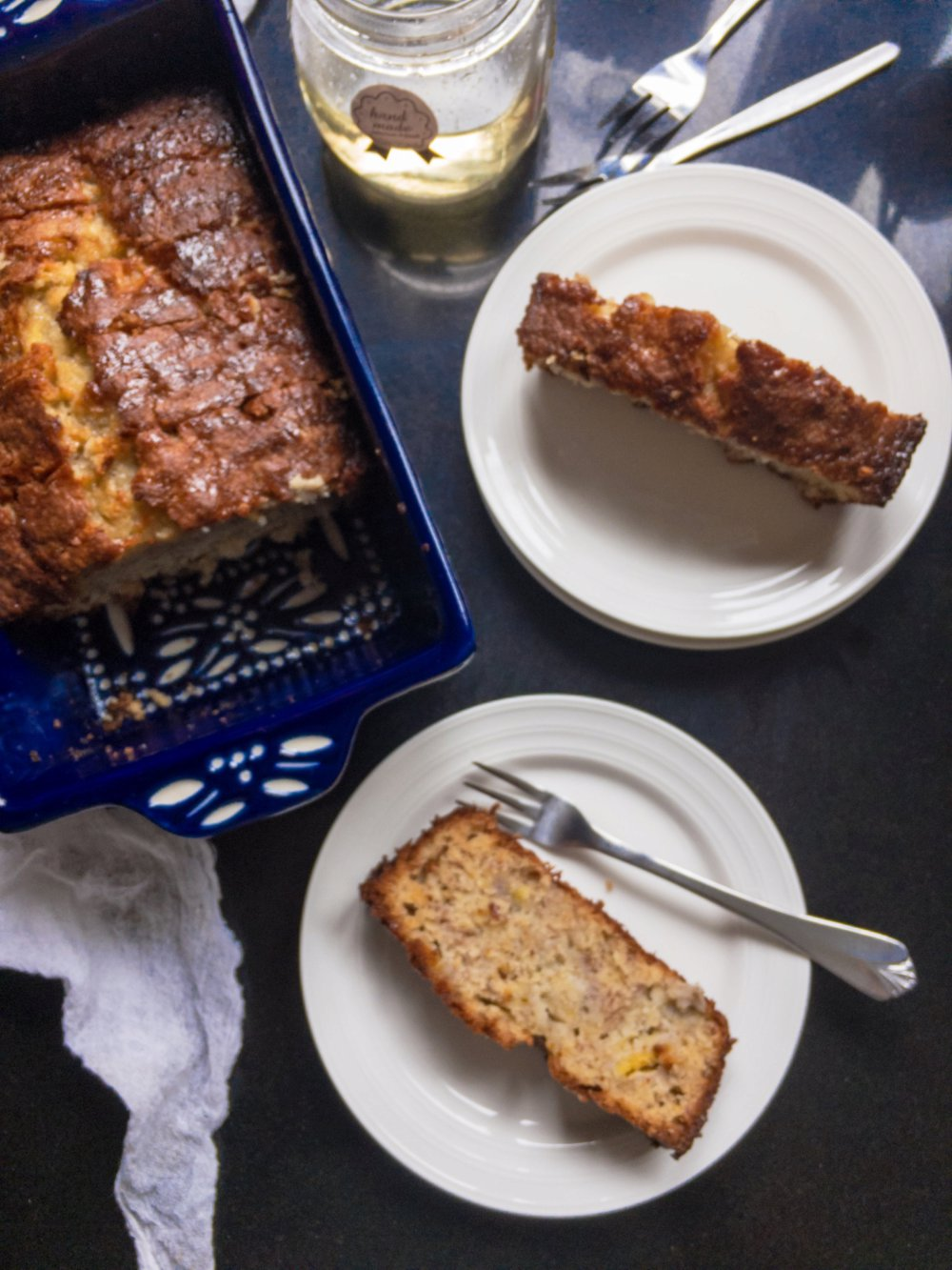 Best Ever Banana Bread with Orange Blossom