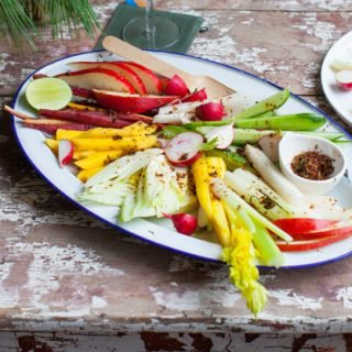 Gail's Fruit and Vegetable Crudité with chili and lime