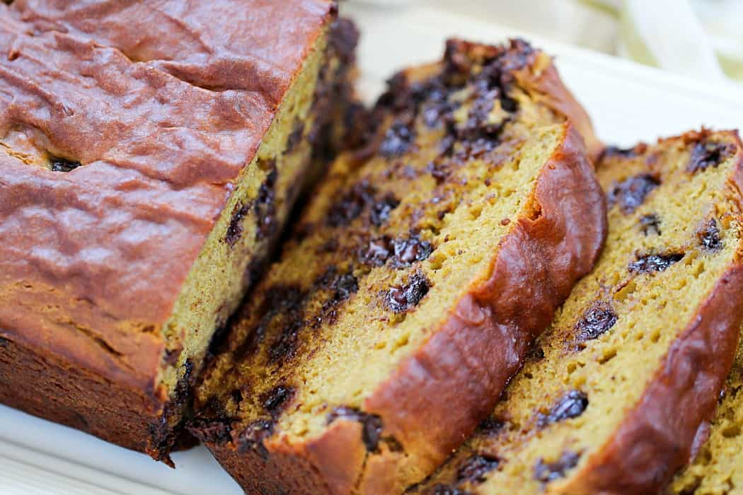 Chocolate Chip Banana Avocado Bread
