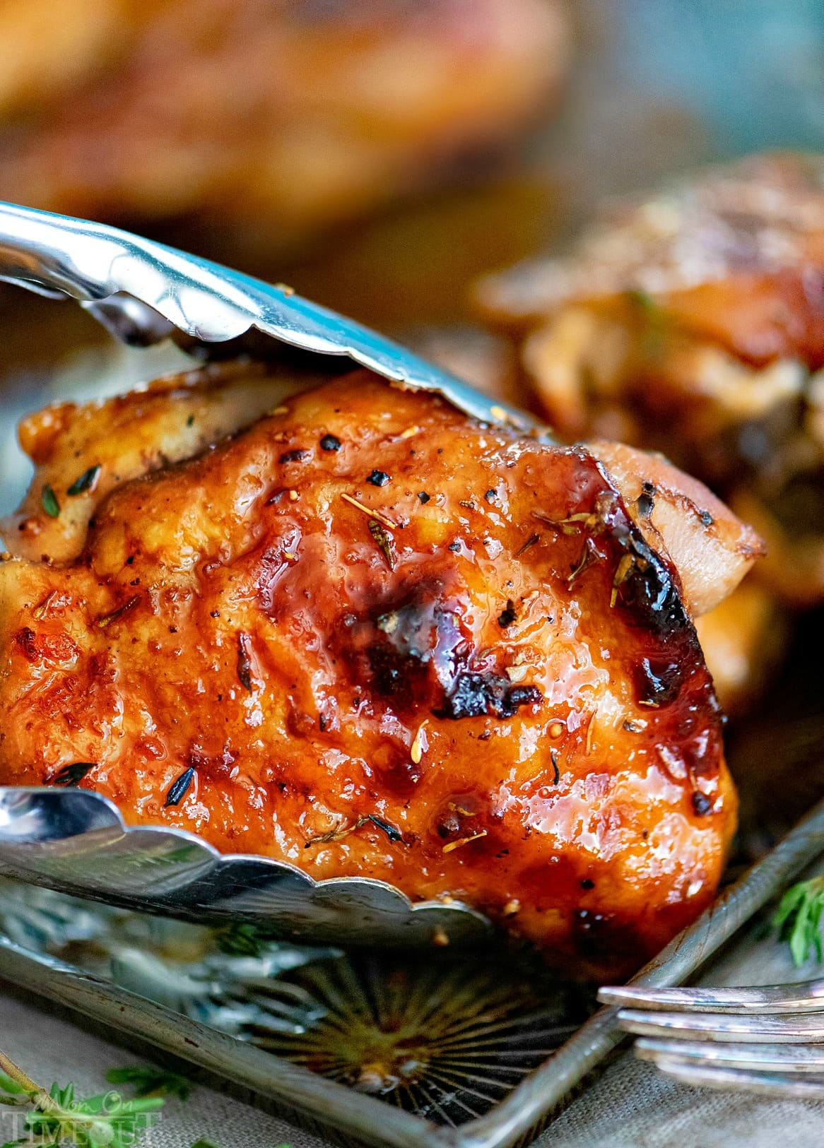 Easy Glazed Honey Balsamic Chicken