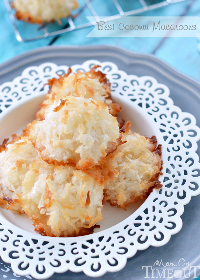 The Best Coconut Macaroons
