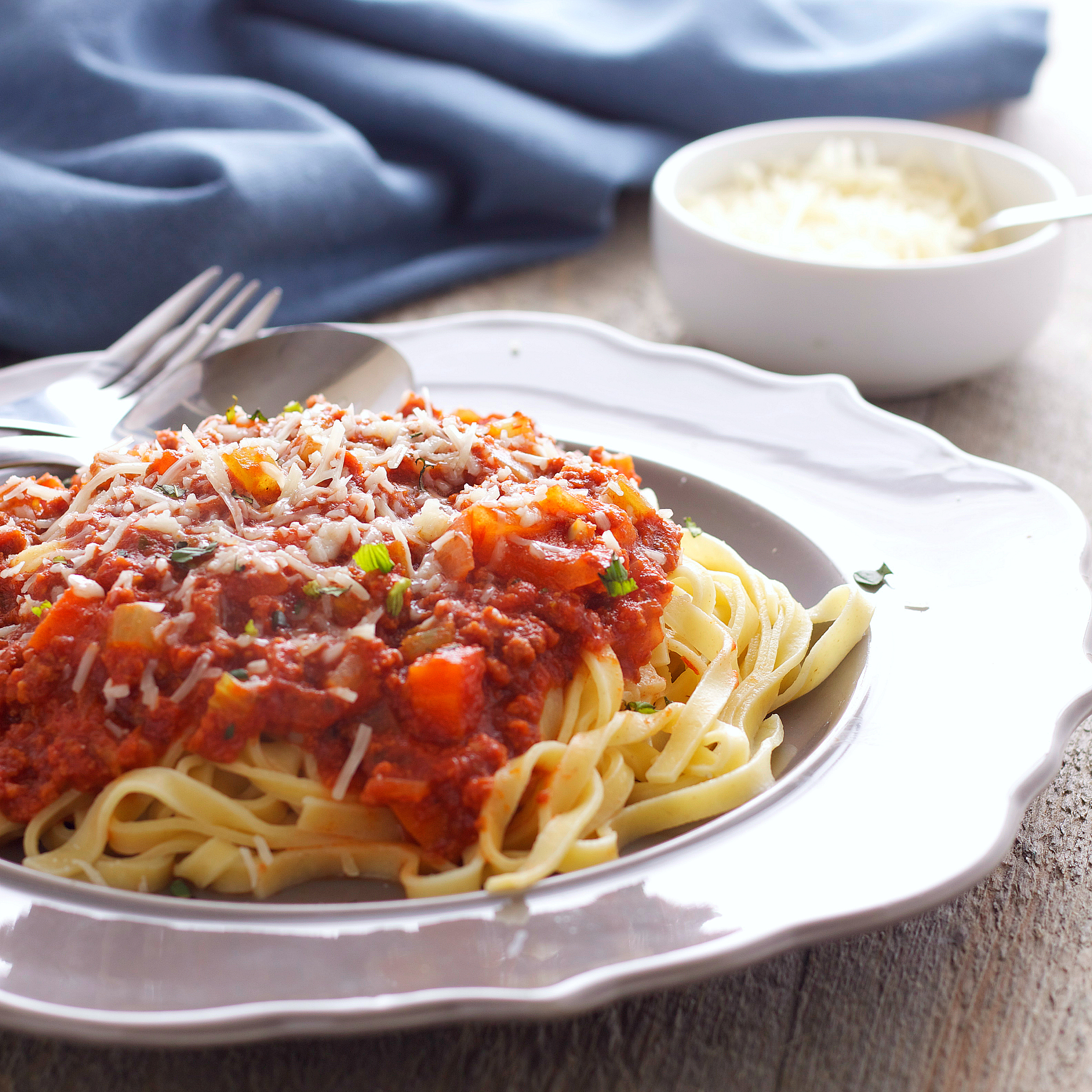 Slow Cooker Bolognese Sauce