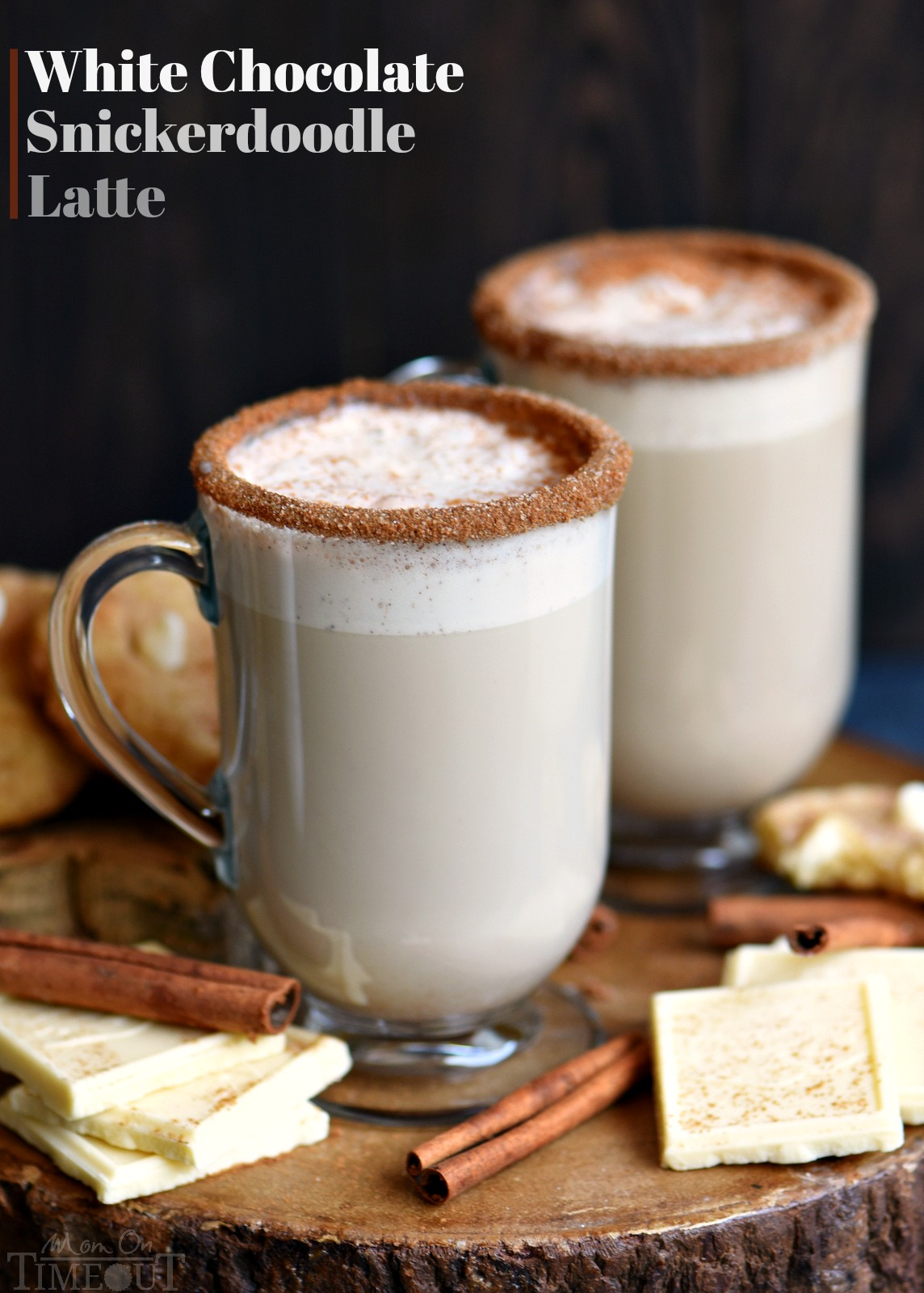 White Chocolate Snickerdoodle Latte