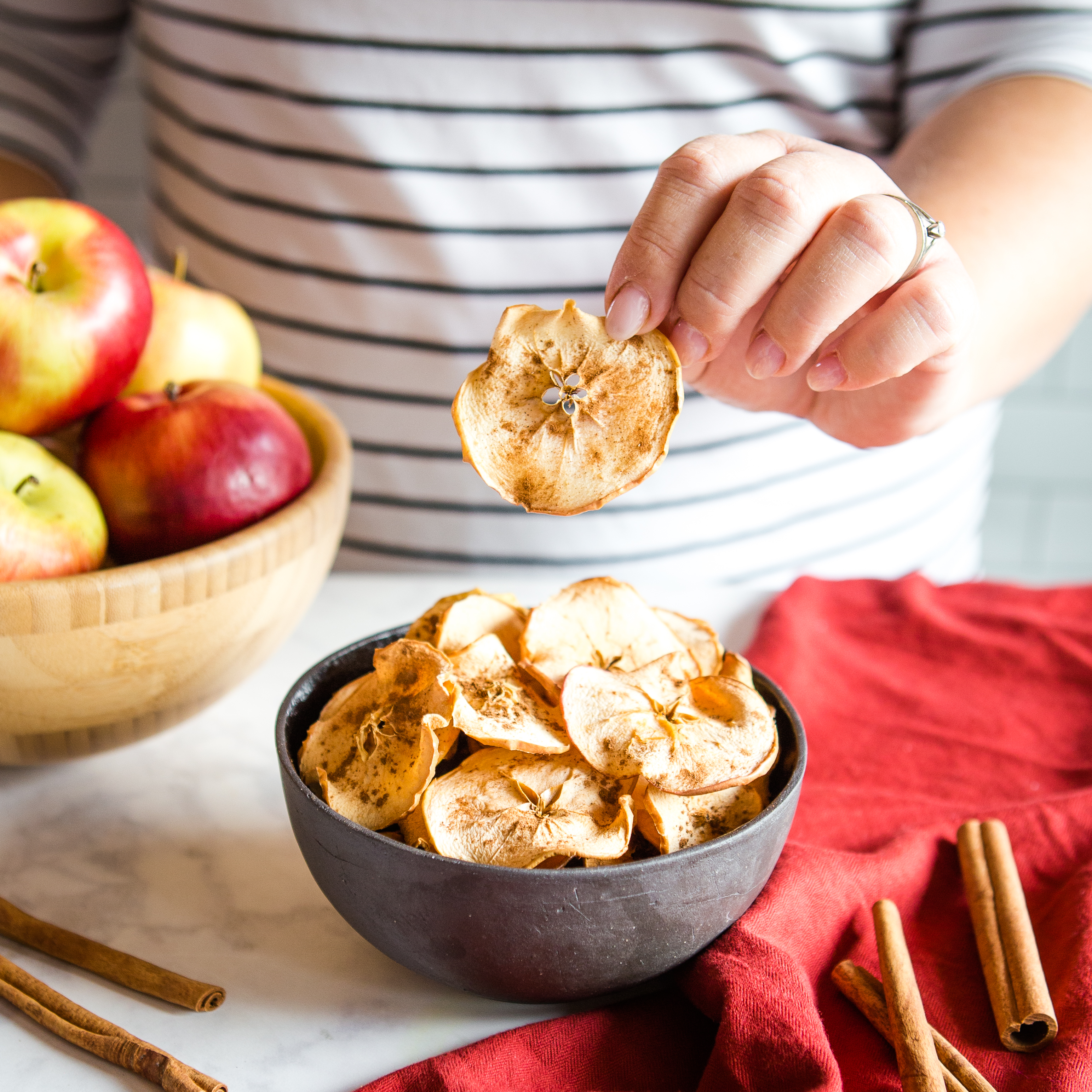 Healthy Apple Chips Recipe