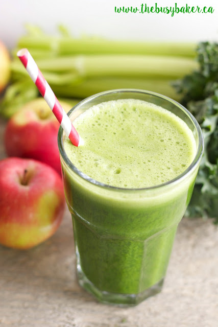 Cucumber Mint Green Juice Coconut Water Smoothie