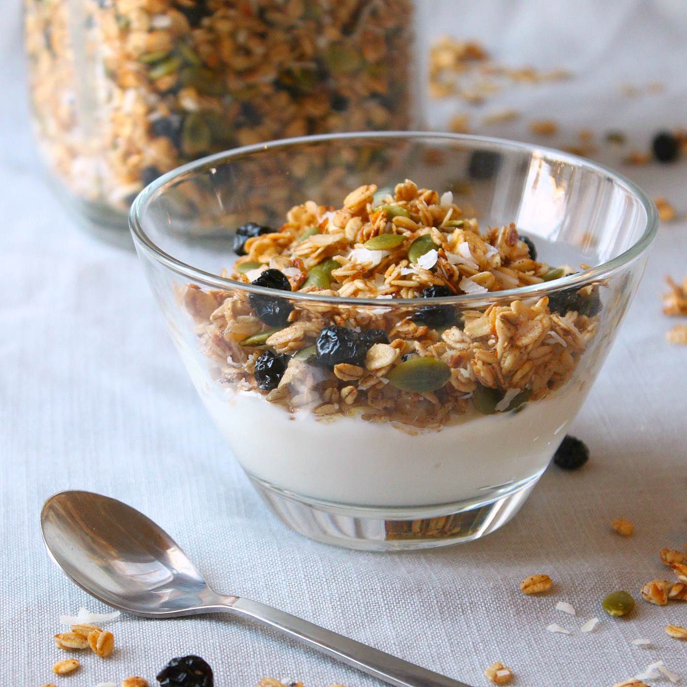 Pumpkin Seed Granola Recipe