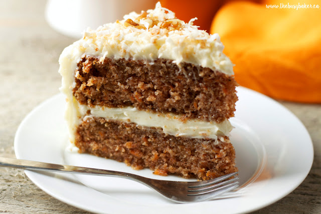 2-Layer Carrot Cake with Cream Cheese Frosting