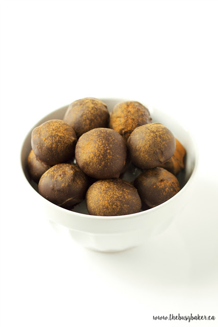 Chocolate Spice Fig Truffles