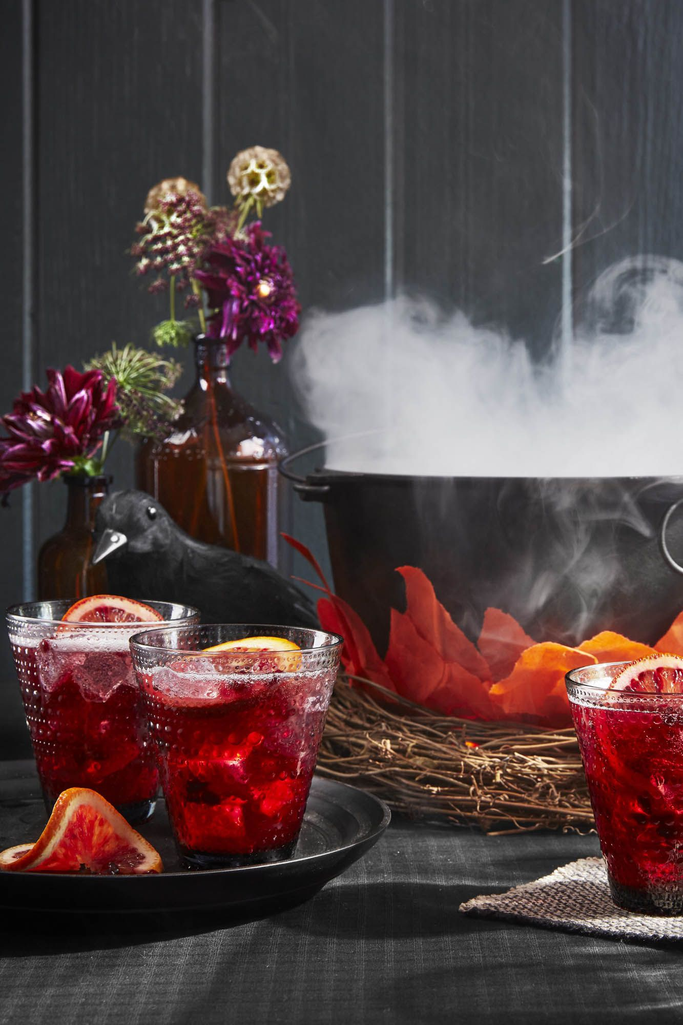 Pomegranate-Rum Punch