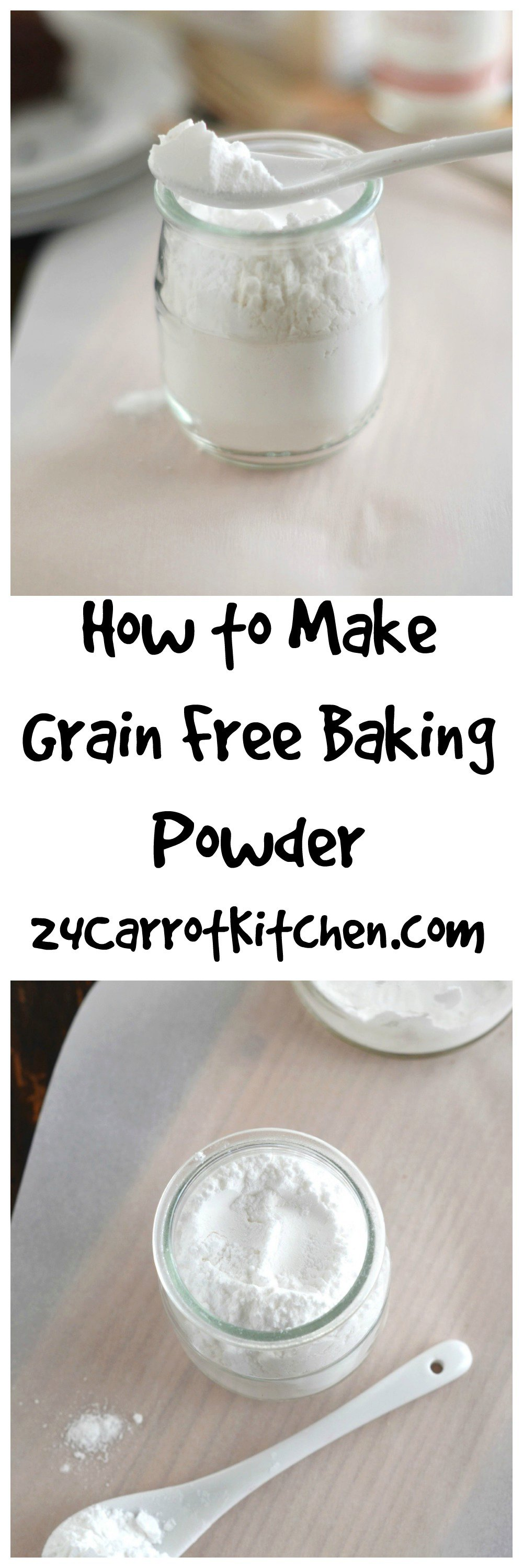 How to Make Your Gluten Free Baking Powder - Easy!