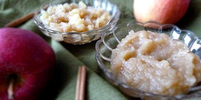 Kat's Maple Applesauce