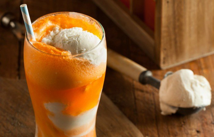 Vegan Orange Creamsicle Float Recipe